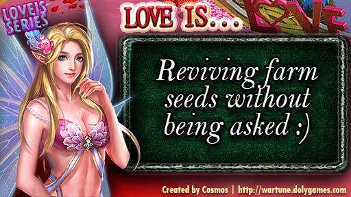 LOVE IS SERIES reviving farm seeds