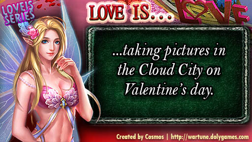 LOVE IS SERIES taking pictures in Cloud City