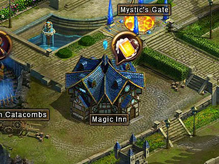 Magic Inn building Wartune