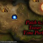 Patch 6.5 Teaser Time Portal 1