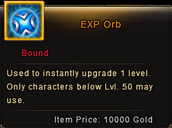 Patch 6.5 item EXP Orb