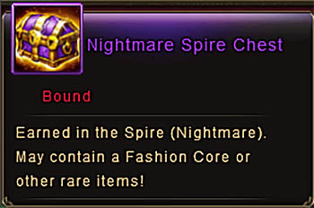 Spire Nightmare Chest Feb 2017 item Wartune