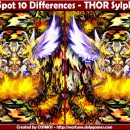 Spot 10 Differences – THOR Sylph