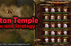Titan Temple Tips and Strategy