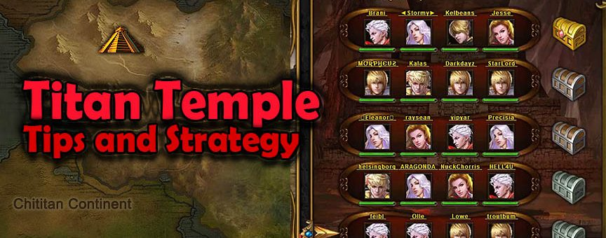 Titan Temple Tips and Strategy (including Video)