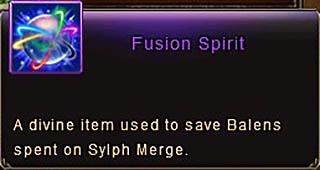 Fusion Spirit item desc Wartune