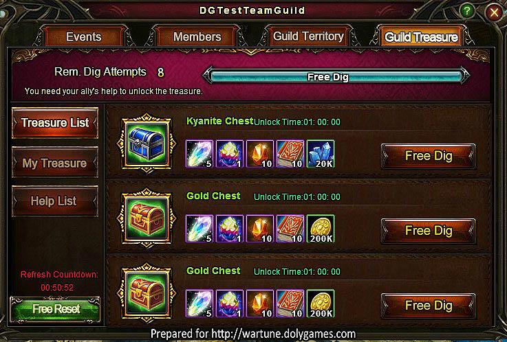 Patch 6.5 Guild Treasure Guide 1