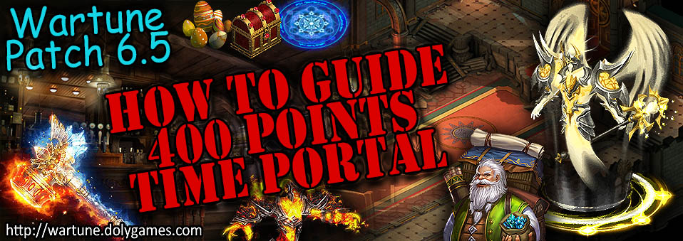 [Patch 6.5] Time Portal Guide: How to Get the 400 Point Rewards