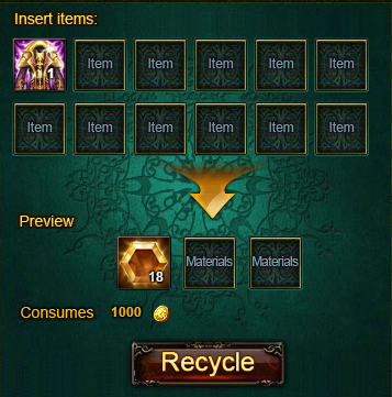 Wartune Recycle to Sell
