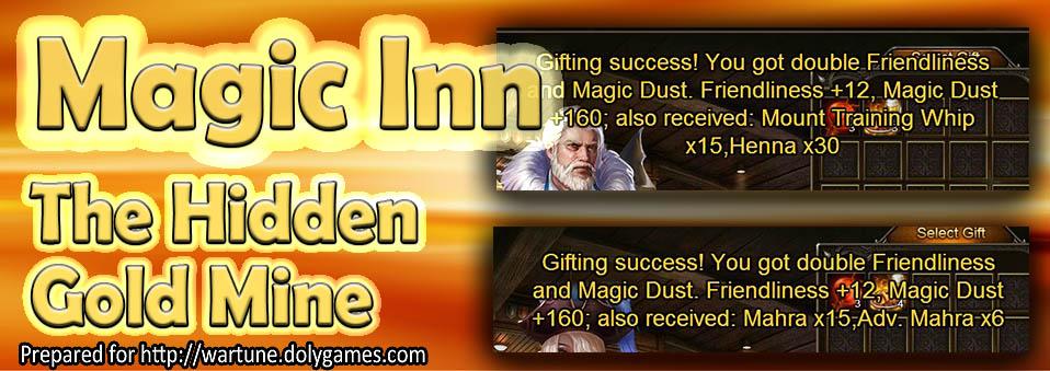 The Hidden Gold Mine – Magic Inn