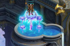 COSMOS on Frost Lotus Wartune mount Frost Miracle Title