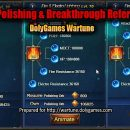 Holy Sword Polishing & Breakthrough REFERENCE