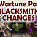 Wartune Patch 7.0 Blacksmith Changes