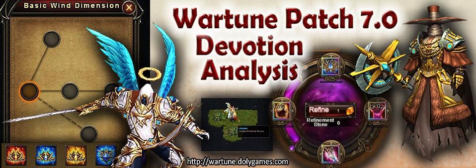 Wartune Patch 7.0 Devotion Points Comparison