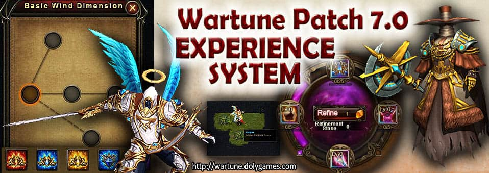 Wartune Patch 7.0 New Experience System Guide