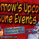 Wartune Events 9 September 2017