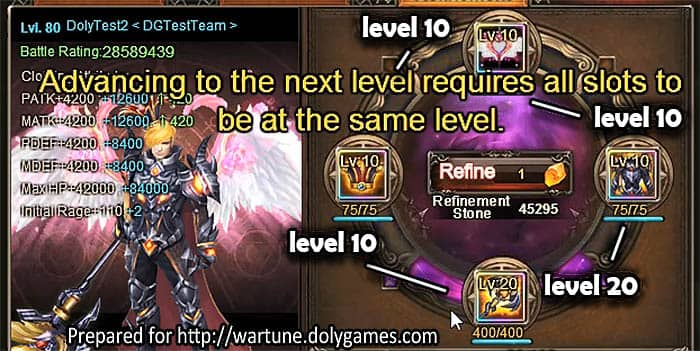 Wartune Patch 7.0 Clothing Refinement Guide 3