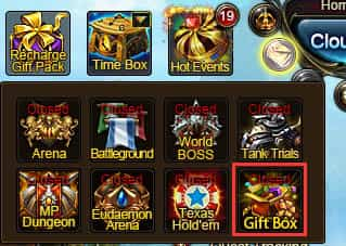 Wartune Patch 7.0 Gift Box  Gift Party Guide icon 2