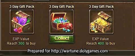 Wartune Patch 7.0 New Experience System Guide 4