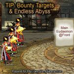 Bounty Targets + Endless Abyss formation Wartune