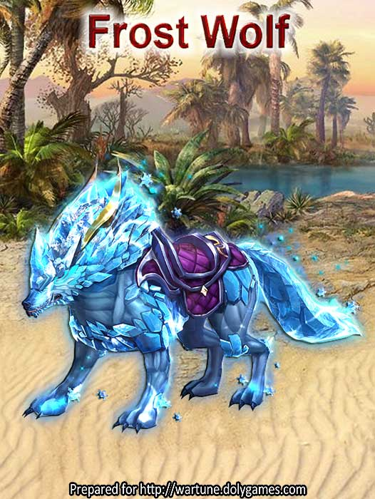 Frost Wolf DolyGames Wartune