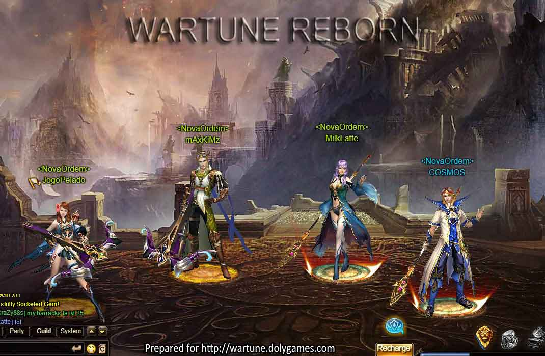 WARTUNE REBORN First Look & Video Reviews 1