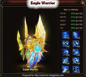 Eagle Warrior Wartune Patch 7.5