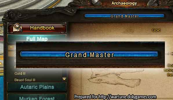 Grand Master of Archaeology 3