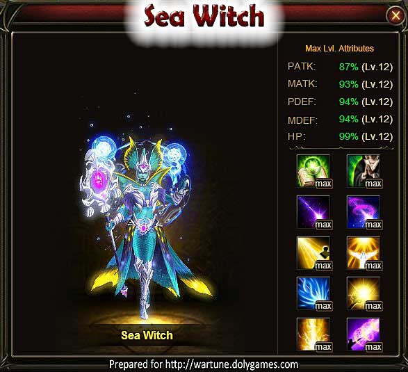 Sea Witch Wartune Patch 7.5