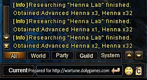 Wartune Patch 7.5 Henna Lab REFERENCE 2