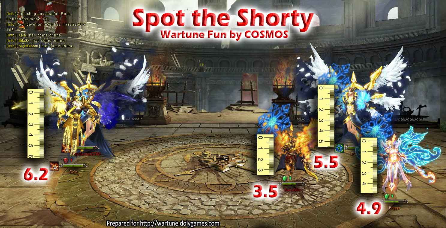 funny Sylph height Wartune OPT
