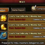 How to Get Multiple Ranking Rewards in Lord's Trial 1