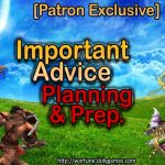 Patron Exclusive Important Planning Advice