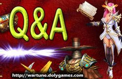 Q&A question and answer DolyGames Wartune FB SIZE