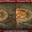 Spot 10 Differences – Dungeon Floor Oct 2017