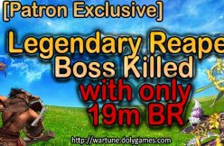 COSMOS killed Legendary Reaper Boss with 19m BR FEATURED