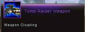 Cosmic Ghostly Knight (#Wartune Clothing) Tomb Raider Weapon