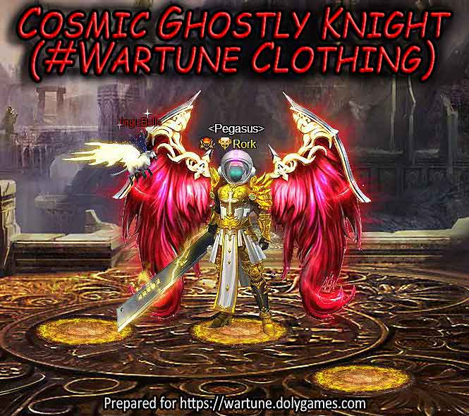 Cosmic Ghostly Knight (#Wartune Clothing) set