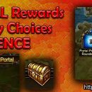 TIME PORTAL Rewards & Difficulty Choices REFERENCE