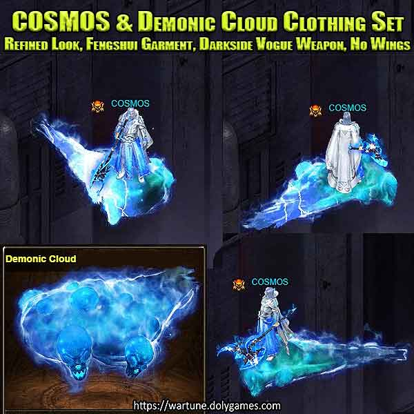 COSMOS & Demonic Cloud Clothing Set