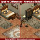 Spot 10 Differences – Wartune Residence