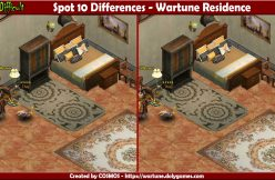 Spot 10 Differences - Wartune Residence