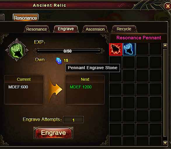 Recycle Pennants 2 Wartune Patch 7.7.2