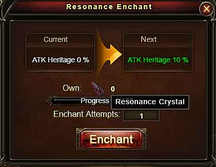 Relic Resonance Enchant Wartune Patch 7.7.2