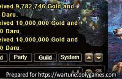 About World Boss changes in Wartune Patch 7.8 10 million gold daru reward