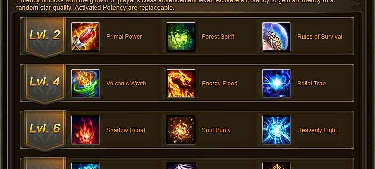 Dragonchant Potency Guide – Wartune 7.8.2