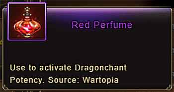 Red Perfume item info Wartune