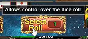 DUNGEON ROULETTE Guide Select Roll button