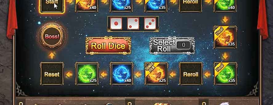 DUNGEON ROULETTE Guide & Video – Wartune Patch 8.0