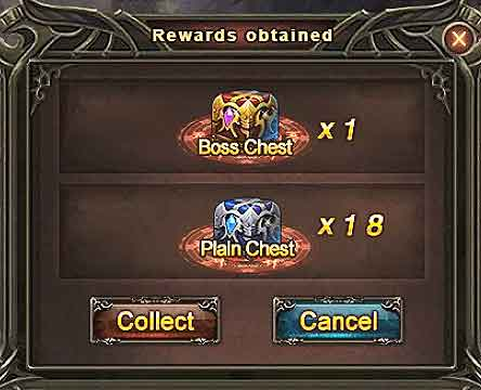 DUNGEON ROULETTE Guide final rewards boss chest plain chest